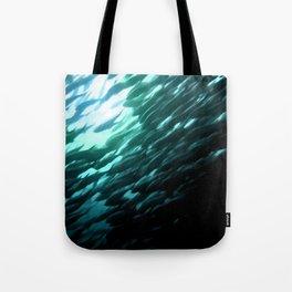 Thousands of jack fish Tote Bag