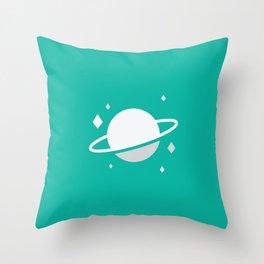 Planetary II Throw Pillow