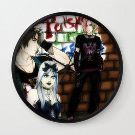 Lithuania-Belarus-Poland (Rock-Goth-Punk) Wall Clock
