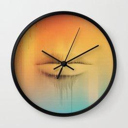 Data Kiss Wall Clock
