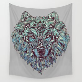 Wolf (Lone) Wall Tapestry