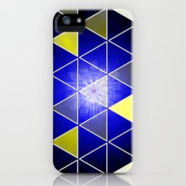 wild triangle flower iPhone Case