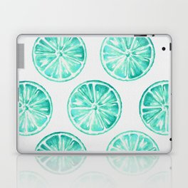 Turquoise Citrus Laptop & iPad Skin