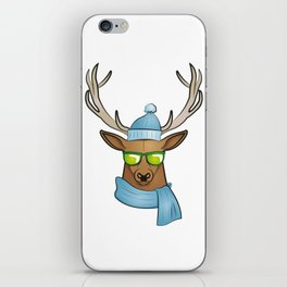 cool stag iPhone Skin