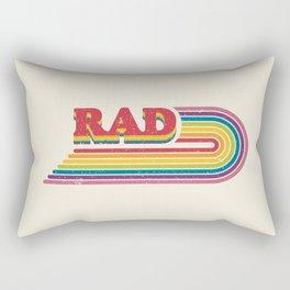 Rad Rainbow Rectangular Pillow