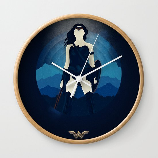 I used to want to save the world. - Diana Prince Wall Clock