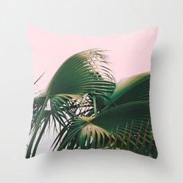 Palm Love Throw Pillow