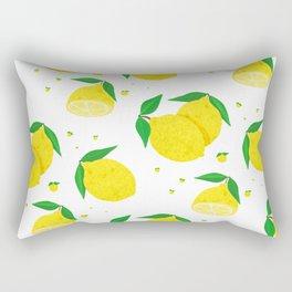 Big Lemon pattern Rectangular Pillow