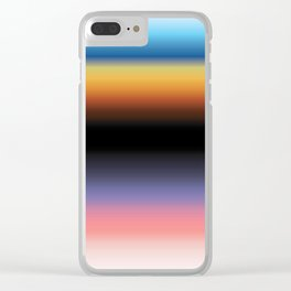 The Skys Colour Clear iPhone Case