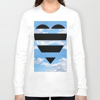 moschino Long Sleeve T-shirts featuring Moschino Heart by cvrcak
