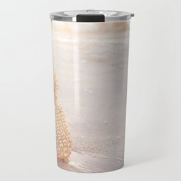 Golden Pineapples Travel Mug
