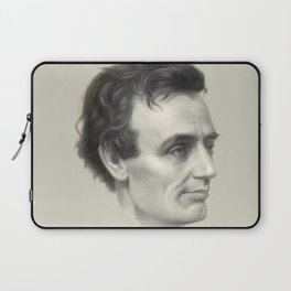 Abraham Lincoln Without Beard, 1860 Laptop Sleeve
