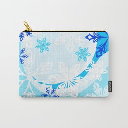 Winter Holiday Abstract Carry-All Pouch