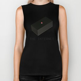 The Internet Black Box IT Department  Biker Tank