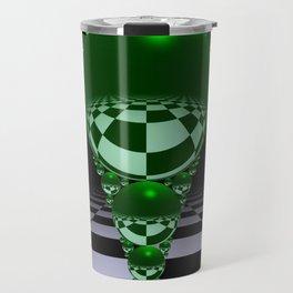 Apollonian gasket - green Travel Mug