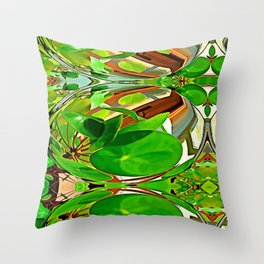 Maxflower bulb Throw Pillow