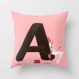 Agathe & Sauna Throw Pillow