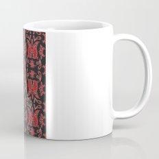 Red & Black Slavic Patterns Mug
