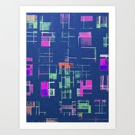 Copan Art Print