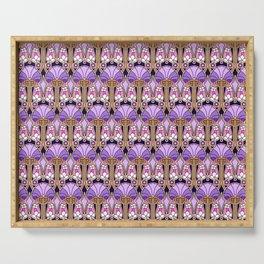 Gatsby Envy, purple Serving Tray