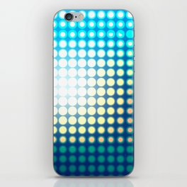 Blue Lights by Friztin iPhone Skin