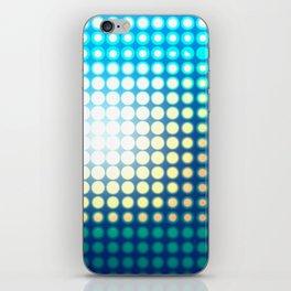 Blue Lights by Friztin iPhone Skin