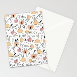Fruit color pattern Stationery Cards