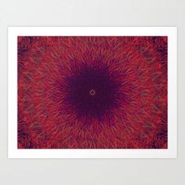 Astral Grass Art Print