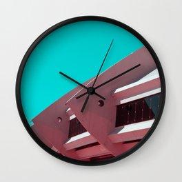 Surreal Montreal #1 Wall Clock