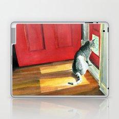 Quigley the Door Cat Laptop & iPad Skin