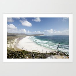 Noordhoek Beach, South Africa Art Print