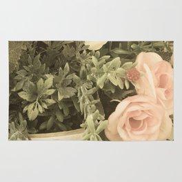 Vintage flowers Rug