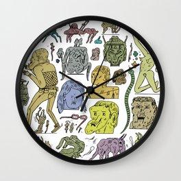 gefgefgefgefgef Wall Clock