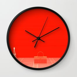 Squared: Objects For Sell Wall Clock