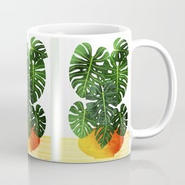 Swiss Cheese Plant Coffee Mug
