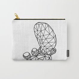 Geometric Prickly Pear Cactus III Carry-All Pouch