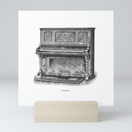 Kimball Piano 07 Mini Art Print