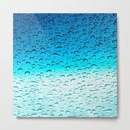 Wincsheild Water Metal Print