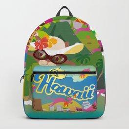 Mews in Hawaii Backpack