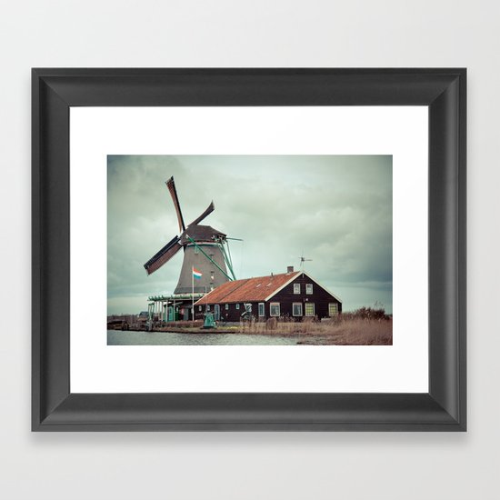 Mill away Framed Art Print