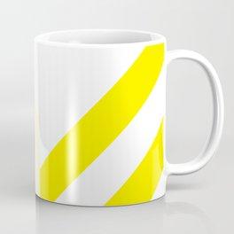 Yellow Stripes Coffee Mug