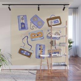 Audio cassette Wall Mural