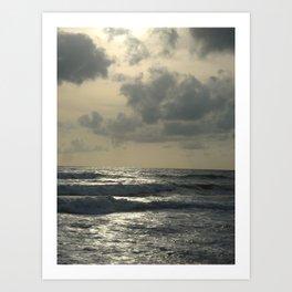 Seawaves Art Print