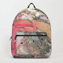 Misty rose garden Backpack