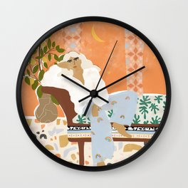 There is always Sunshine after Rain Wall Clock