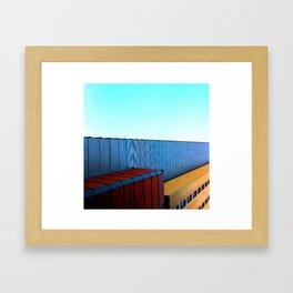 Wagons Framed Art Print