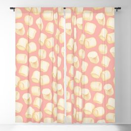 Marshmallow Pattern - Pink Blackout Curtain