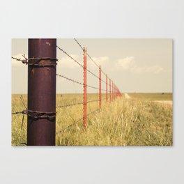 Fence Line Canvas Print