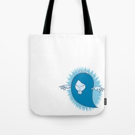 She's An Angel Tote Bag