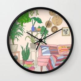 Bohemian Living Room Wall Clock